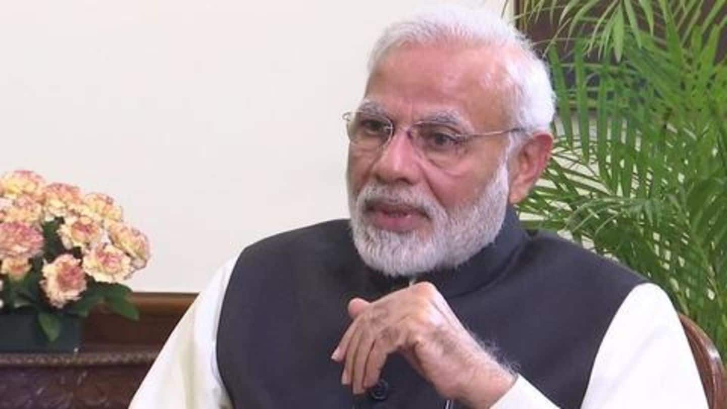 After PM Modi's 2019 interview, Congress asks unanswered questions
