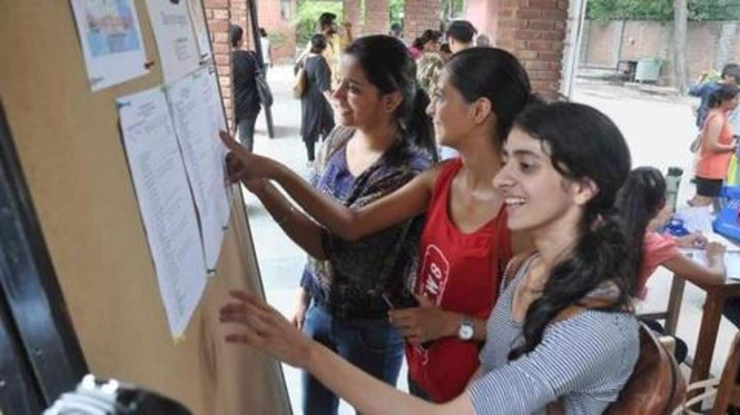 Delhi University declares first cut-off: Check all details here