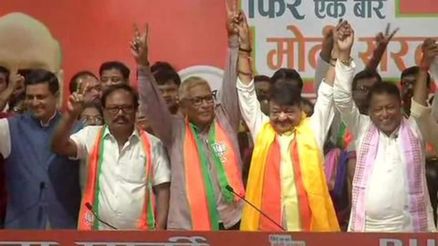 Days after results, 2 Trinamool MLAs, 50+ councilors join BJP