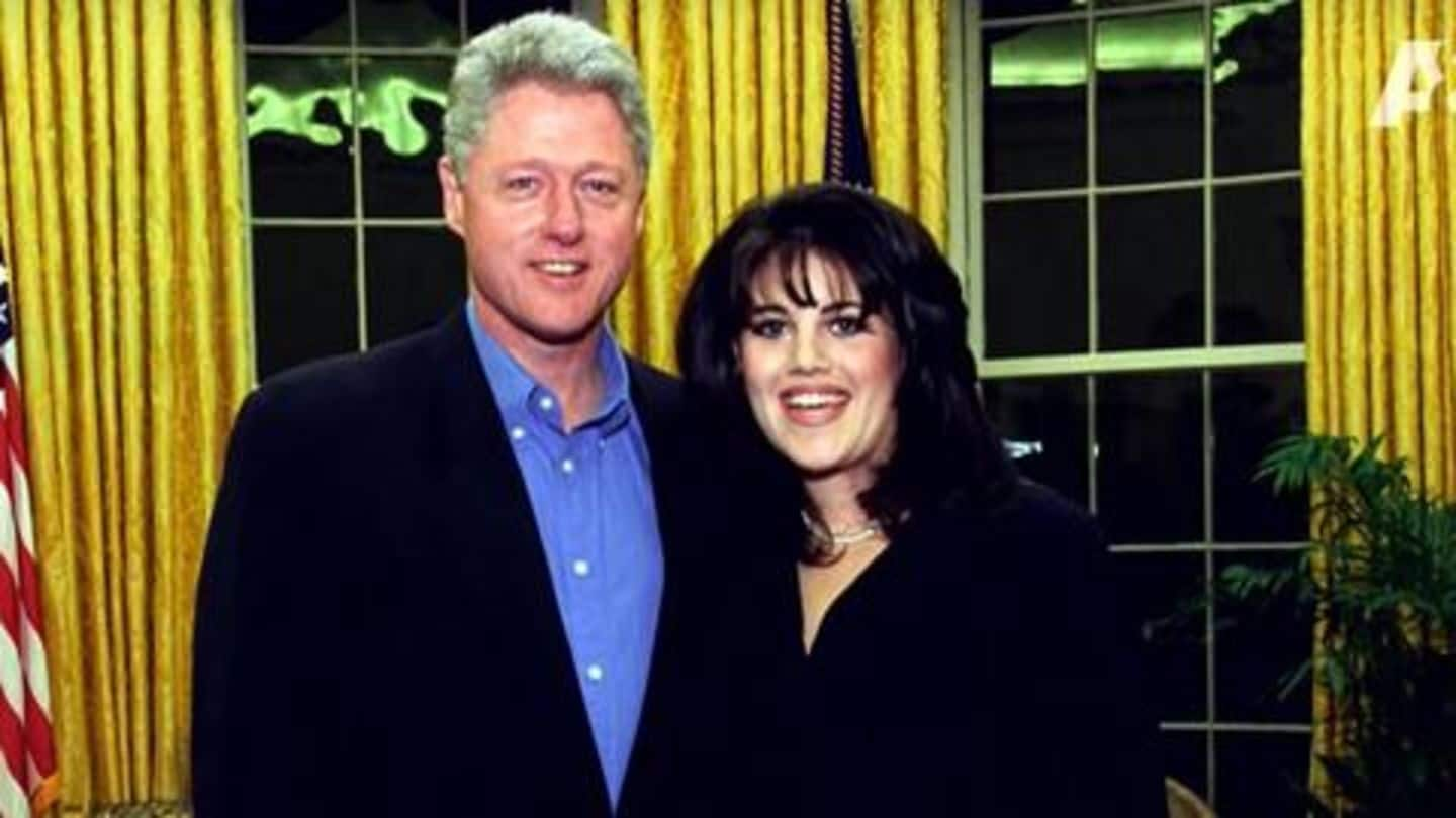 Clinton had sexual relationship with Monica to 'deal' with anxiety
