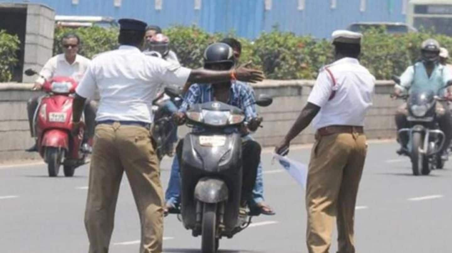 Hyderabad: Traffic-police arrests 26 parents for allowing their kids drive