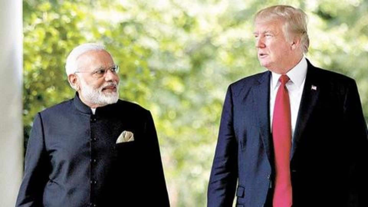 India and Pakistan have got to 'work it out': Trump
