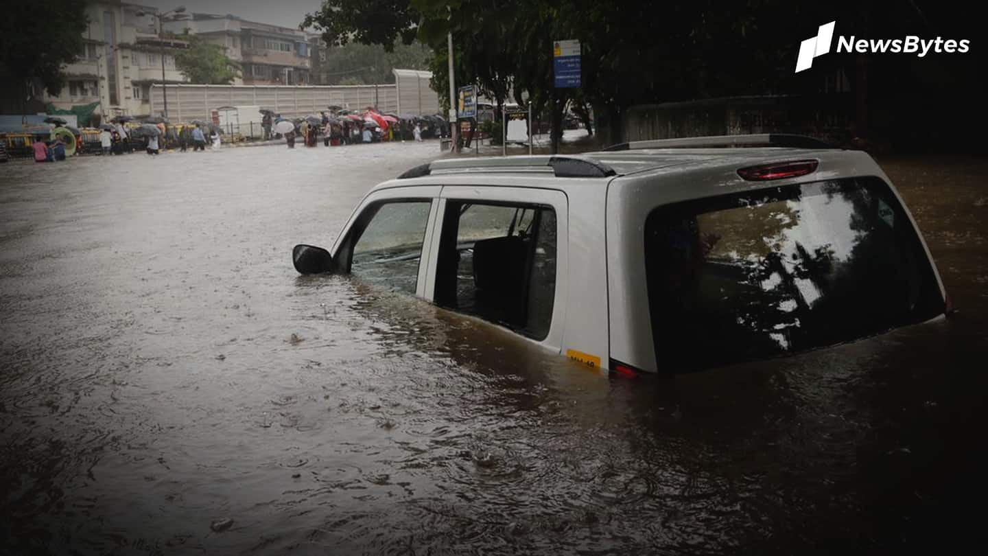Mumbai gets slight relief after record-breaking rainfall batters city