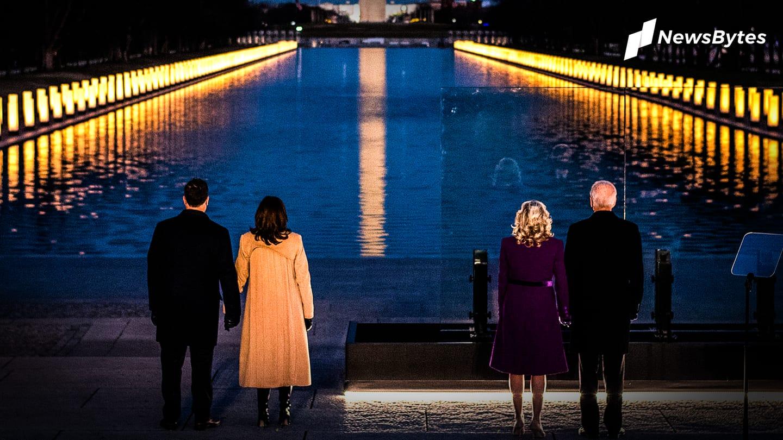 On night before inauguration, Biden grieves 400,000 coronavirus victims