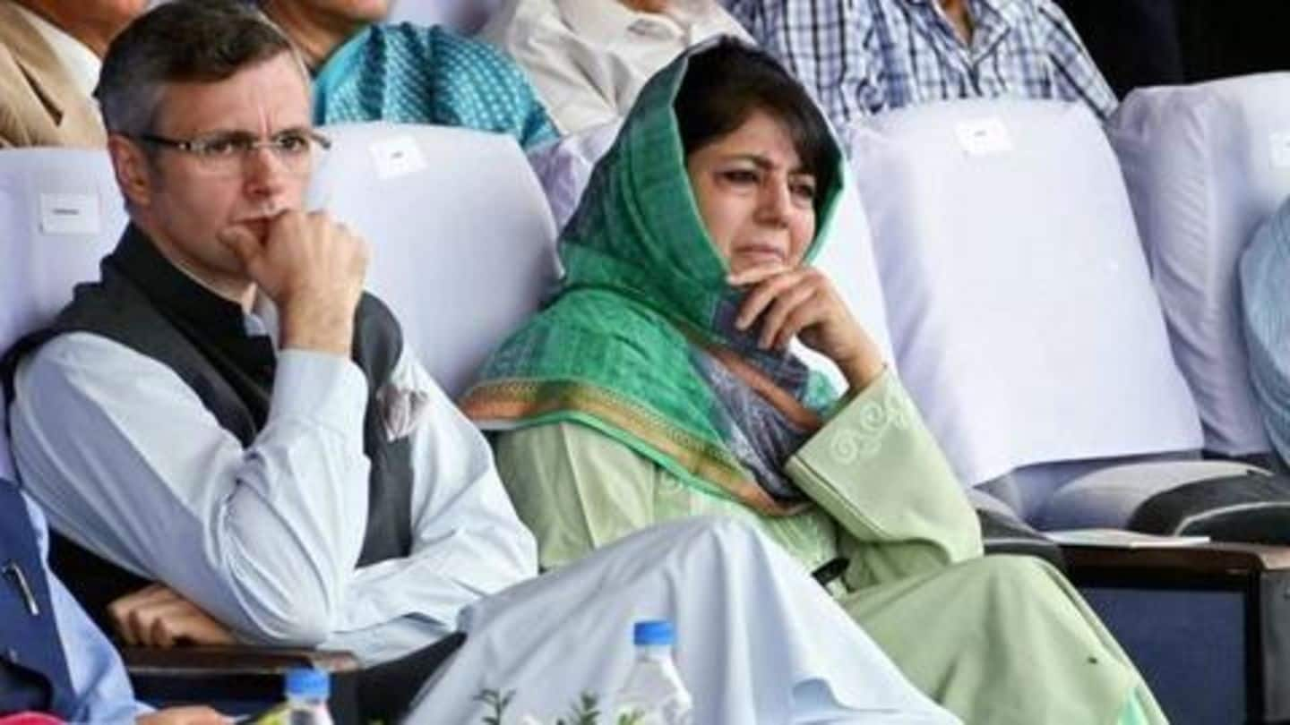 J&K: Omar Abdullah, Mehbooba Mufti put under house arrest