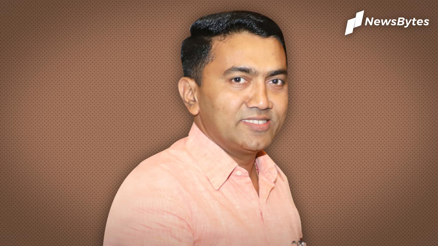 Goa CM Pramod Sawant tests coronavirus positive, in home isolation