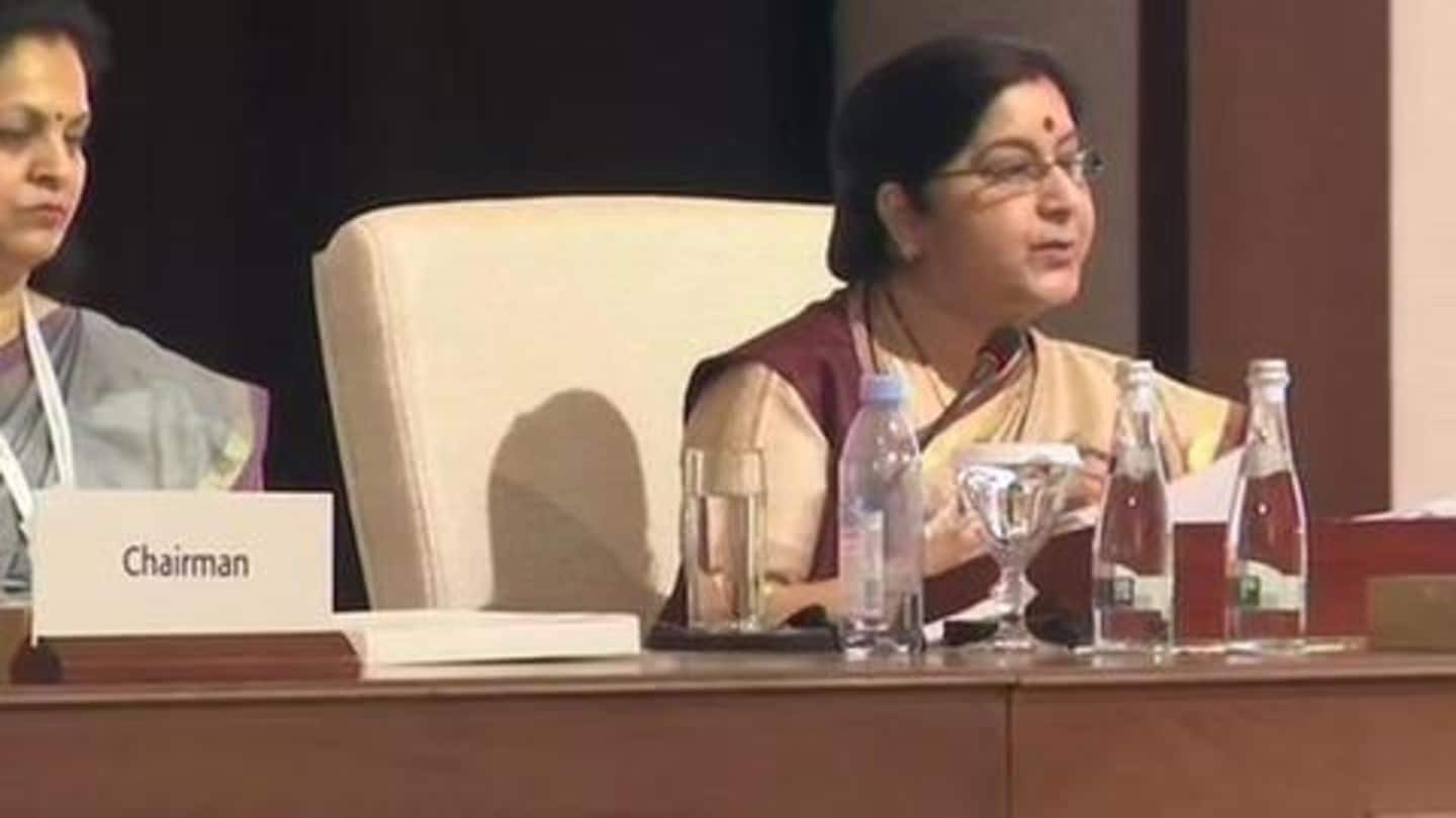 Countries should stop protecting terrorists: Sushma Swaraj at OIC