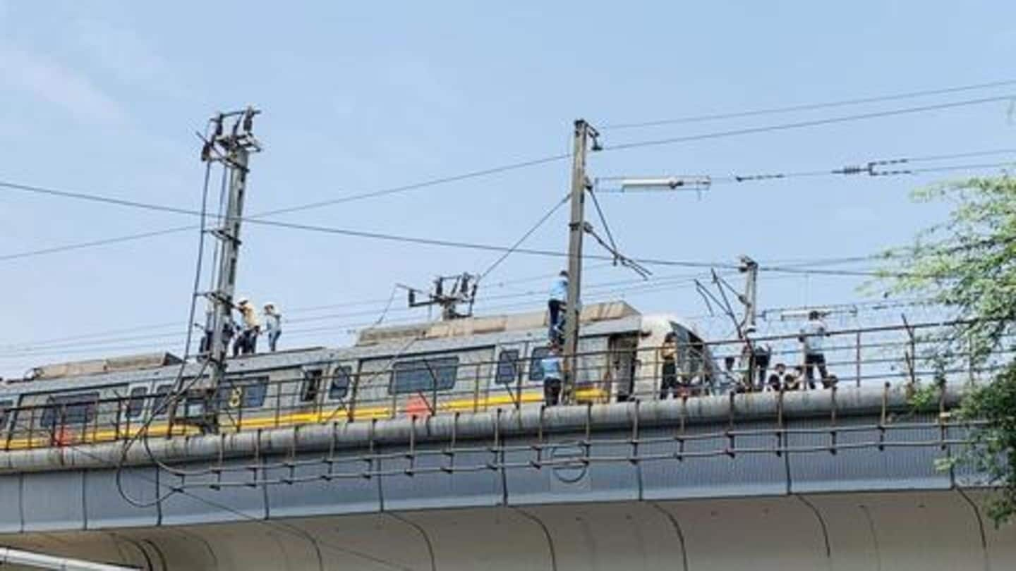Delhi-Gurugram Metro: 6,000 passengers suffered without AC for two hours