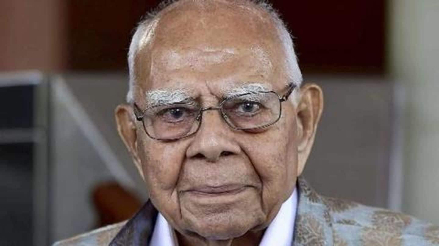 Ram Jethmalani: A look at his most famous cases
