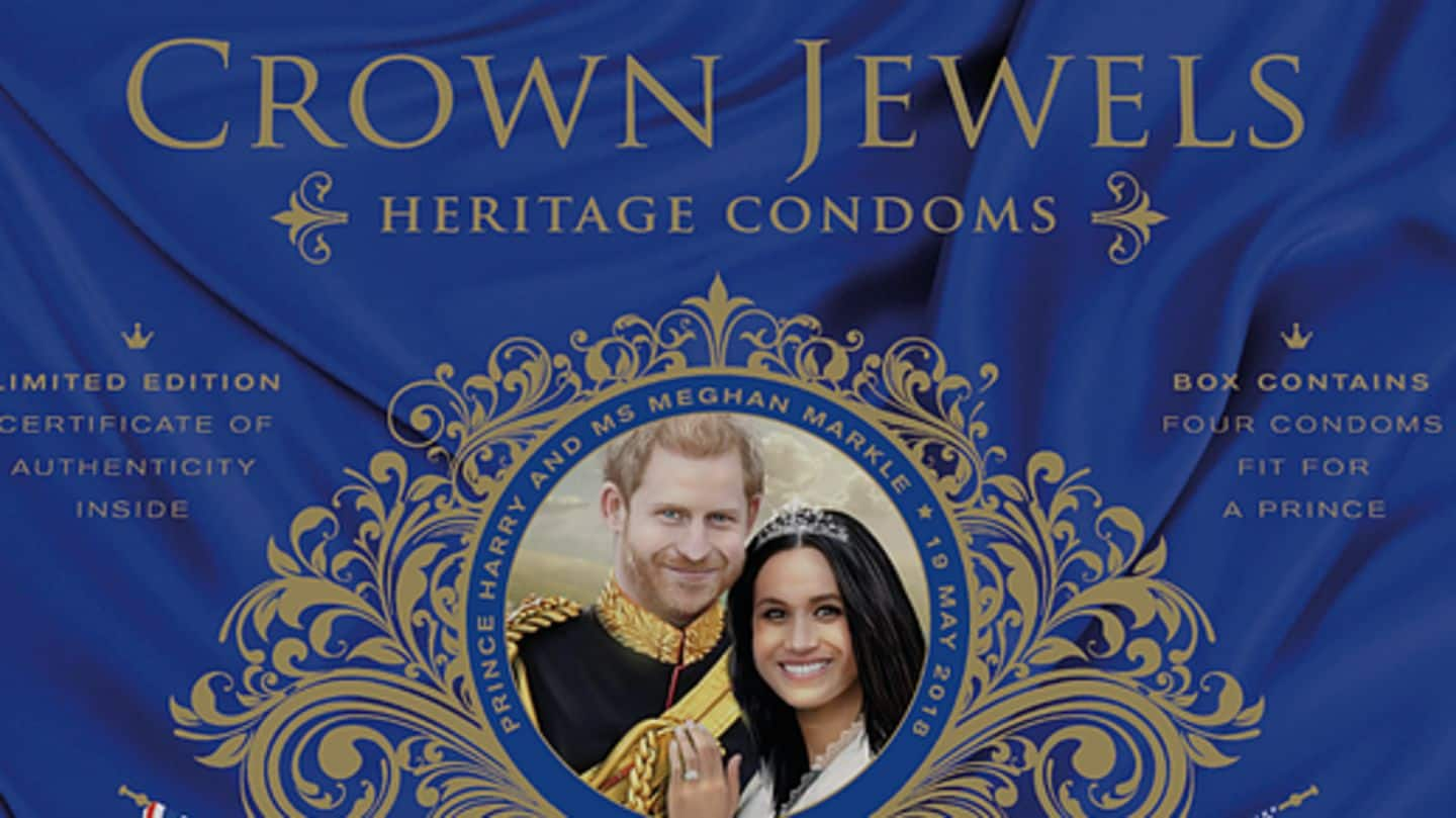 'Fit for prince' royal condoms a rage in Britain