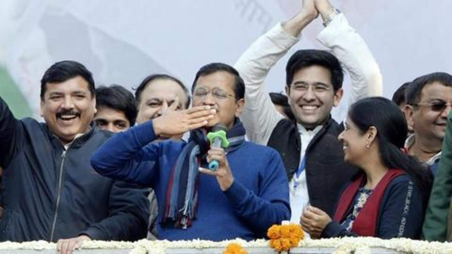 At swearing-in ceremony, Kejriwal to share stage with Delhi's 'architects'