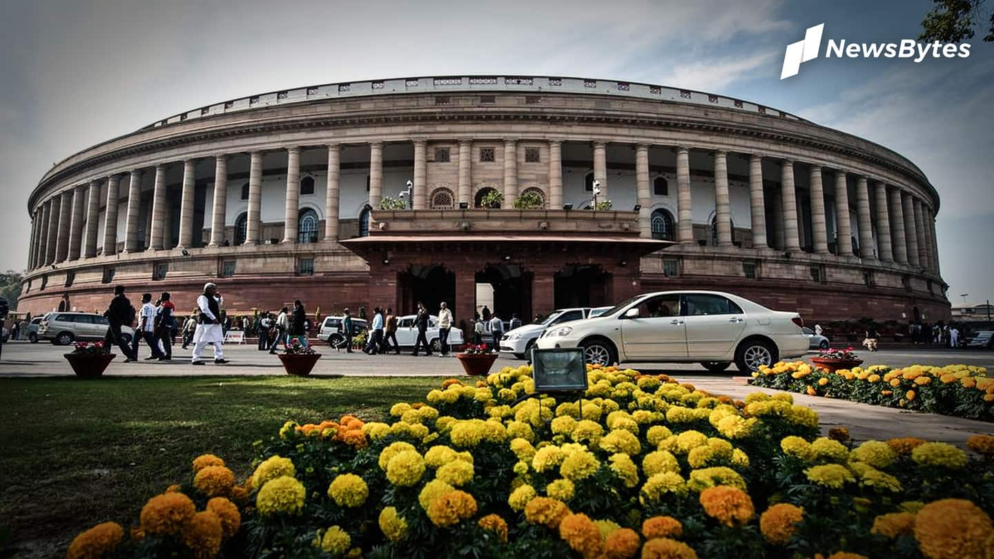 Eight Rajya Sabha MPs suspended; resolution against Deputy Chairman junked