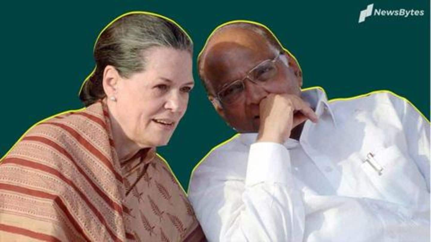 Maharashtra government formation: Sonia, Pawar to meet tomorrow for discussions