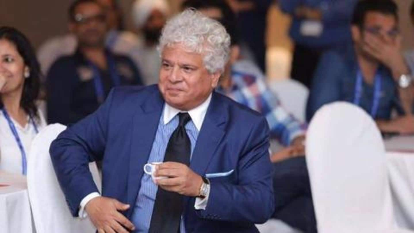 #MeTooEffect: Tata Sons decide against renewing Suhel Seth's contract