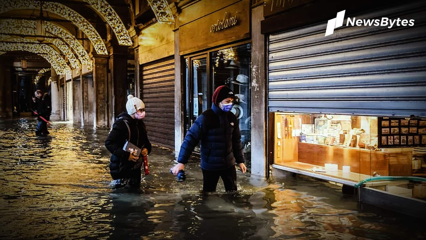 Venice flooded after new dam system didn't activate on time
