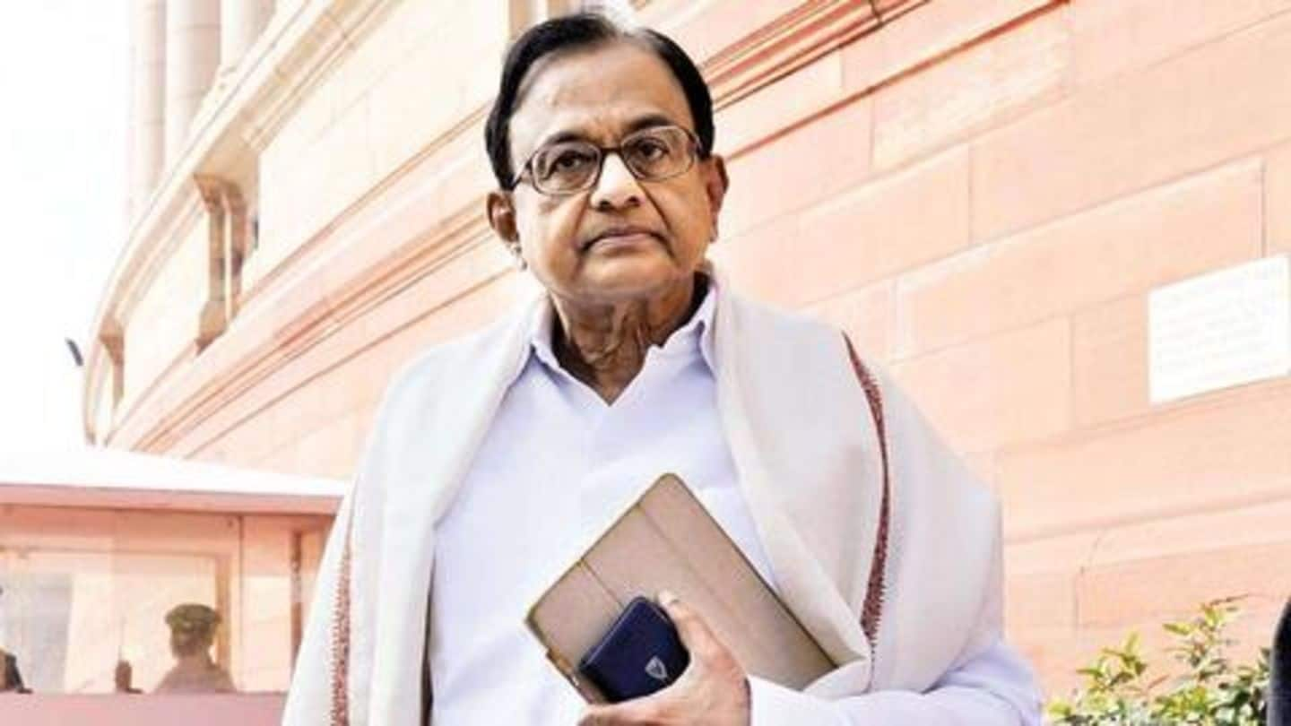 The big question: Where is P Chidambaram?