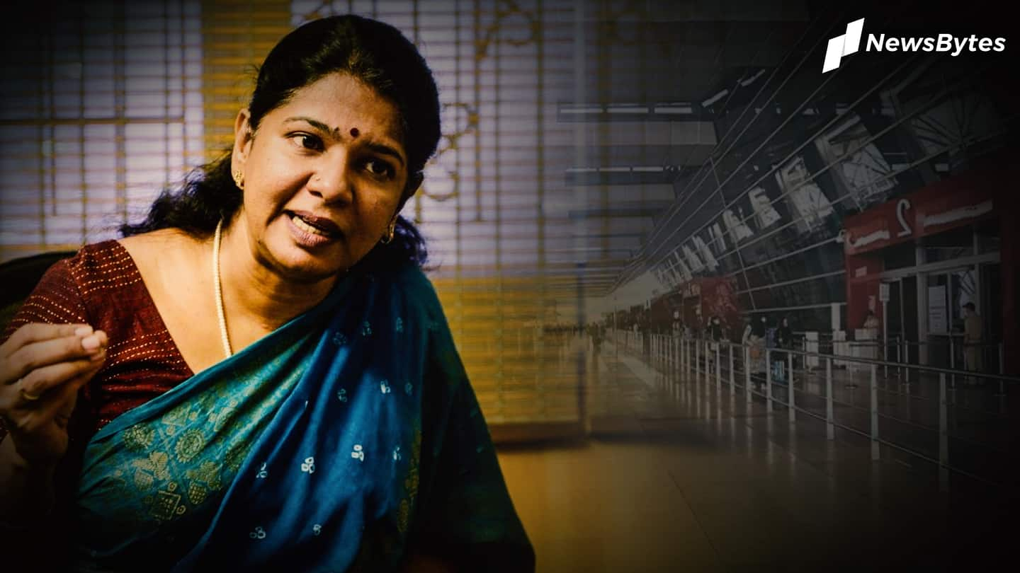 Kanimozhi sparks language debate, Congress supports her, BJP smells campaign