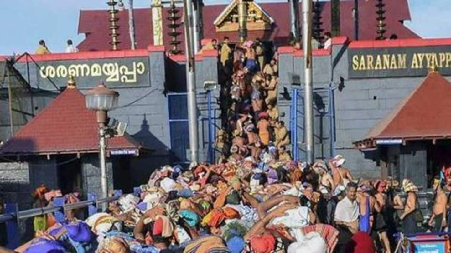 Sabarimala Temple opens today: Government says no place for activism