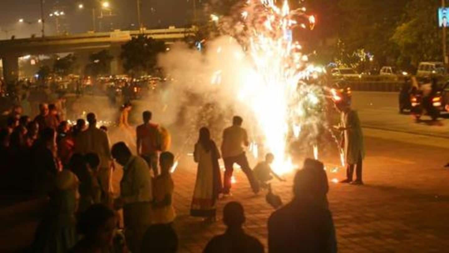 Mumbai: 100 locals booked for violating SC's firecrackers' order