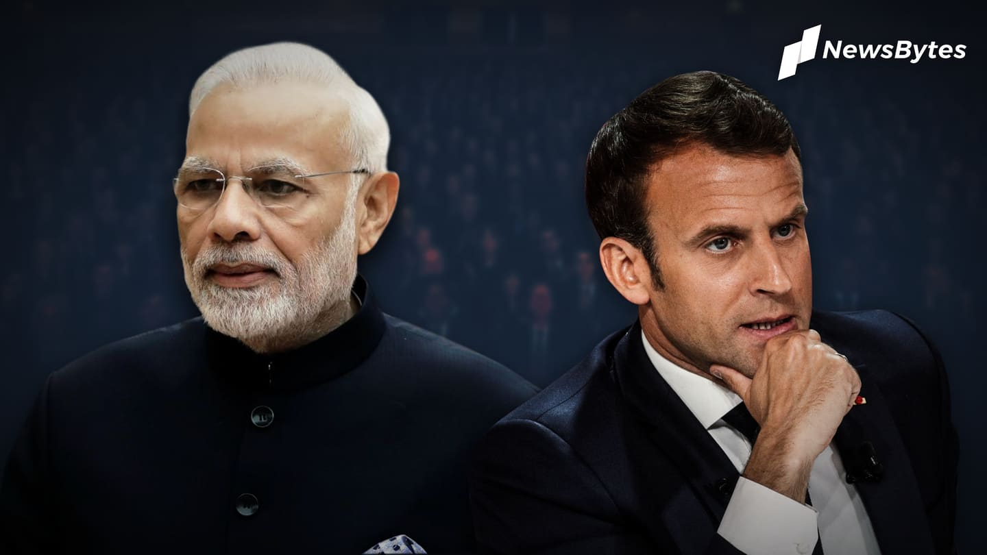 Macron, lambasted for criticizing radical Islam, finds support in India
