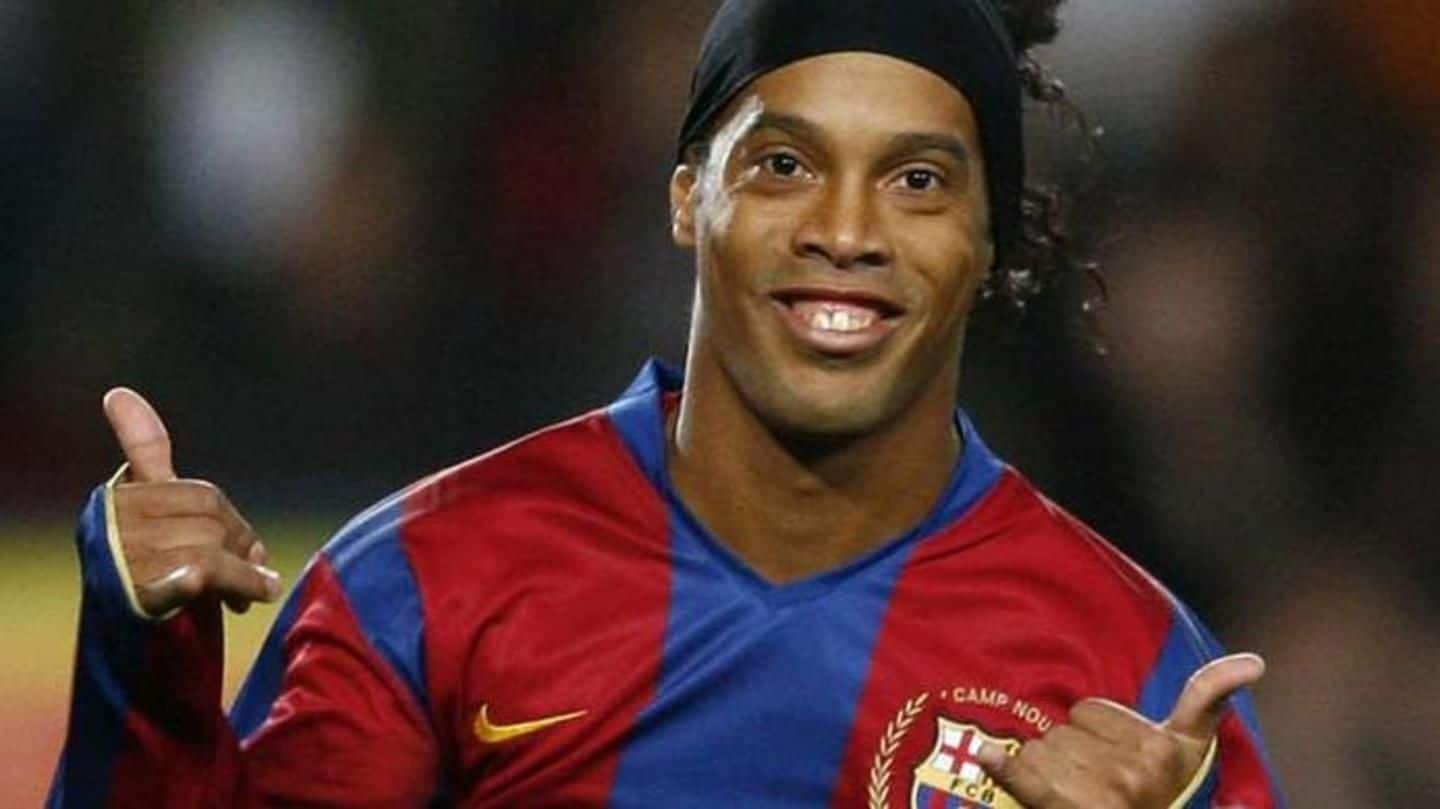 Ronaldinho denies marrying his girlfriends 'at the same time'
