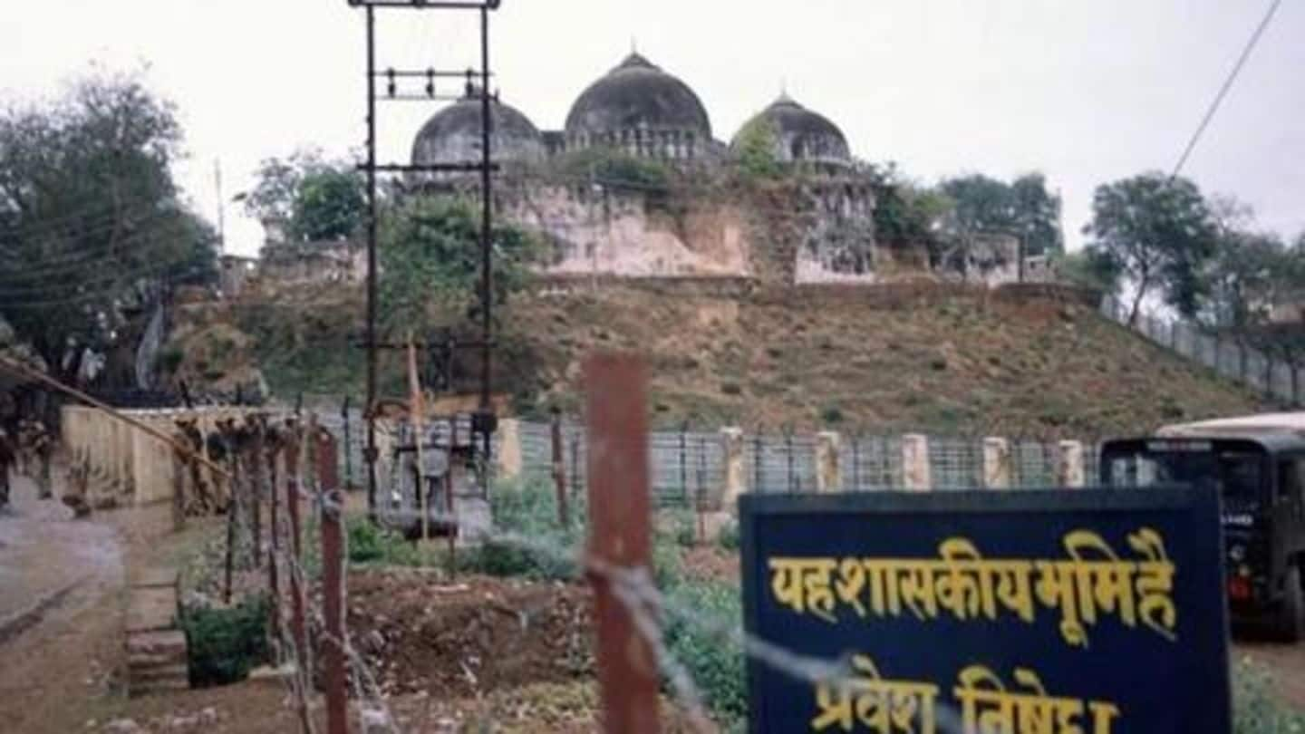 #Ayodhyacase: Centre moves SC to transfer undisputed-land to Mandir trust