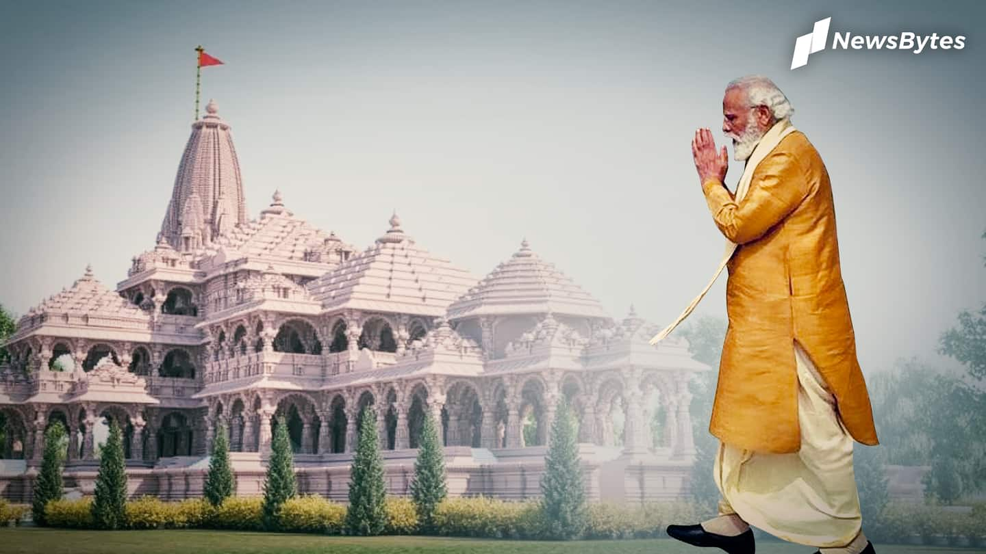 Ayodhya's Ram Temple ceremony: PM arrives, event to start shortly