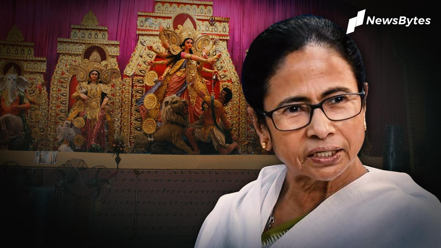 Why Rs. 50,000 grant for puja organizers, Bengal government asked