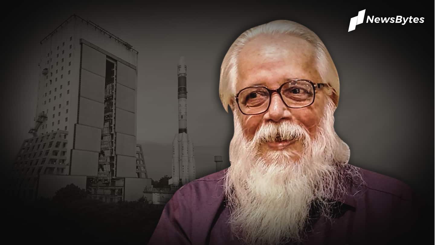 Branded a spy, ISRO scientist gets compensation after 26 years