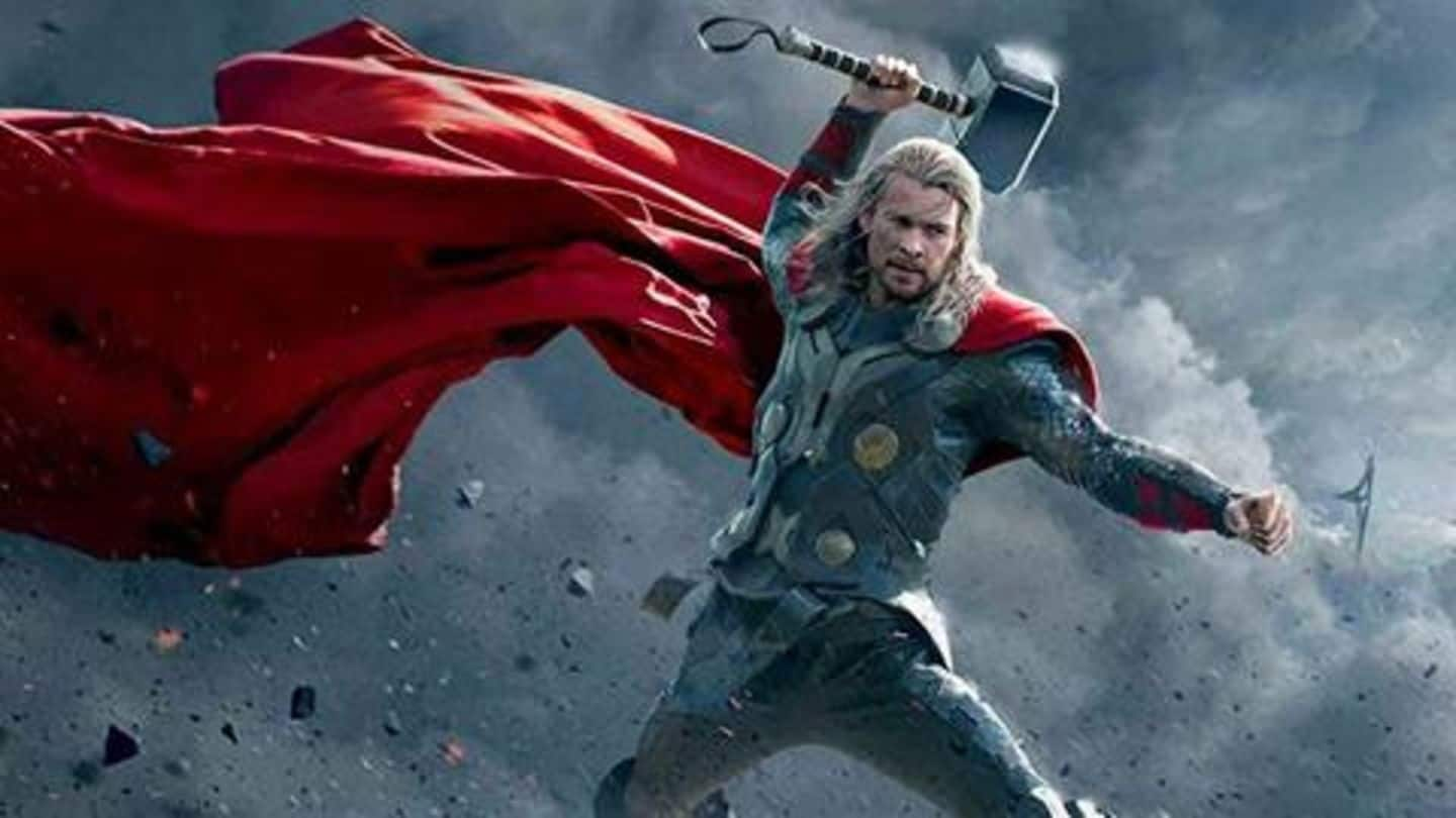 'God of Thunder' was stuck in Indian-traffic, here's his reaction