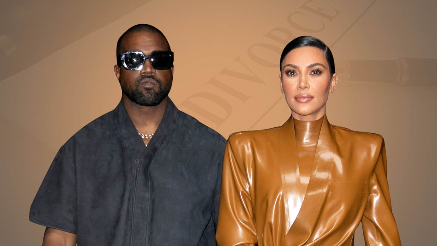 Kim Kardashian and Kanye West are getting divorced