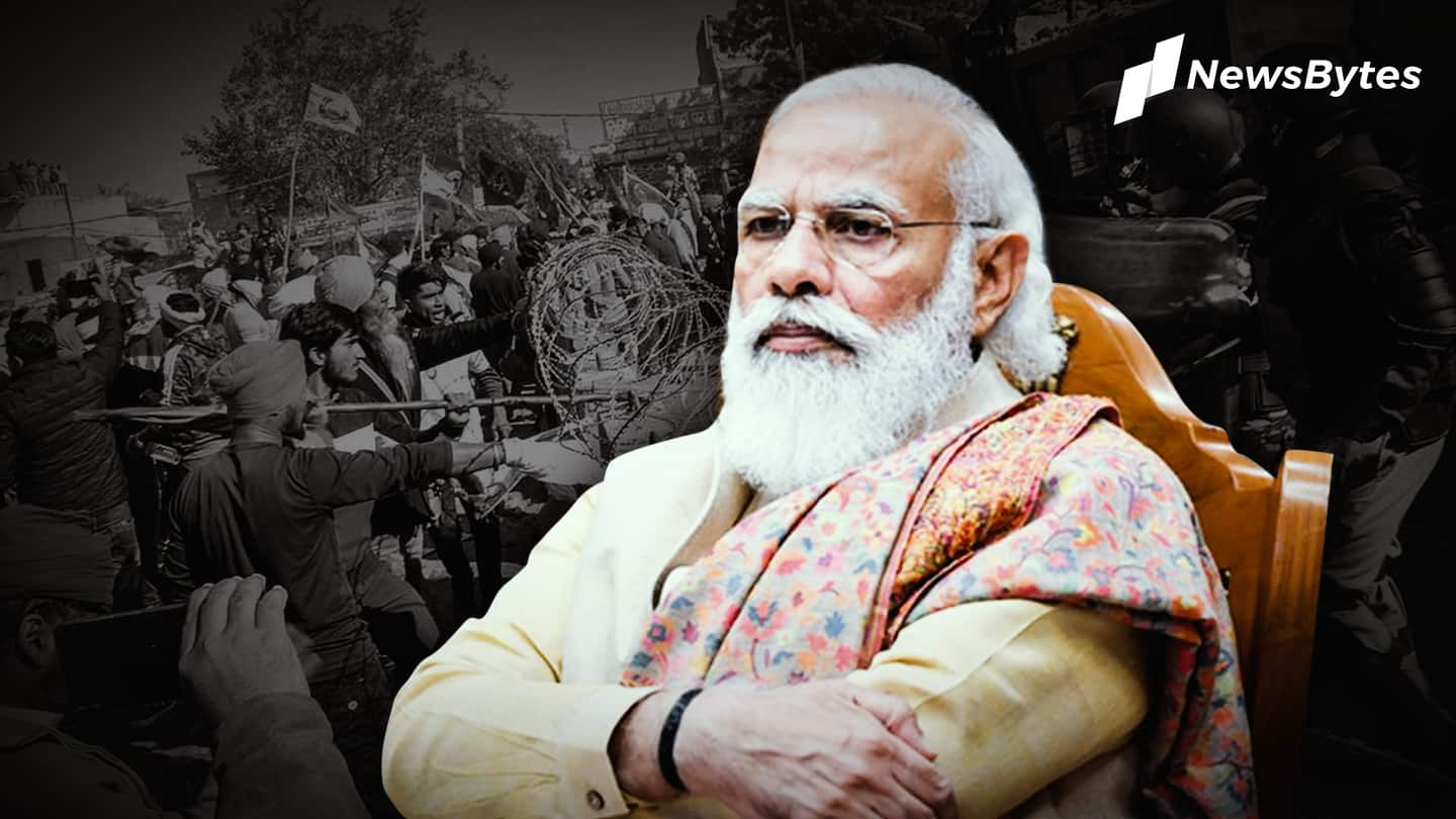 Our intentions as holy as Ganga: PM amid farmers' protest