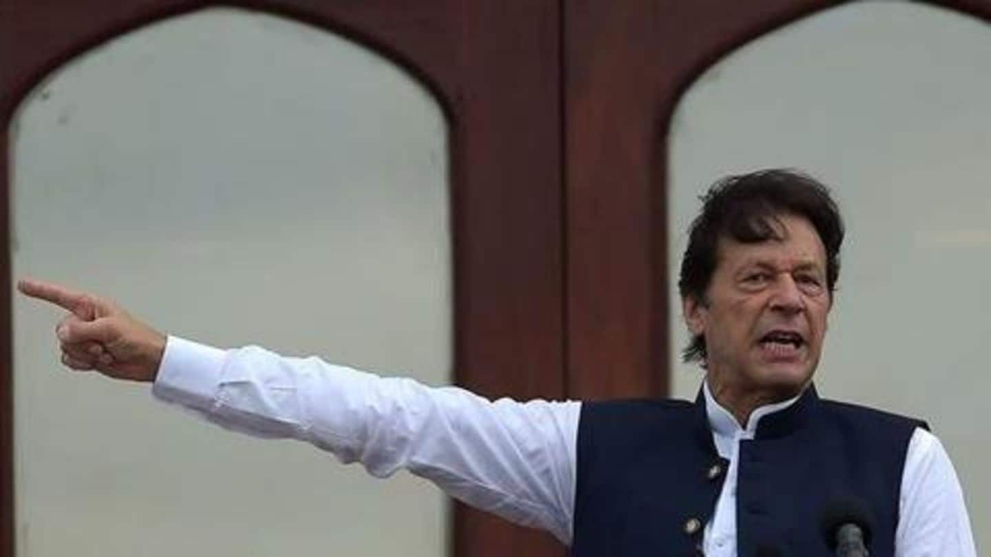 Imran Khan to hold mega rally in Pakistan-occupied Kashmir today