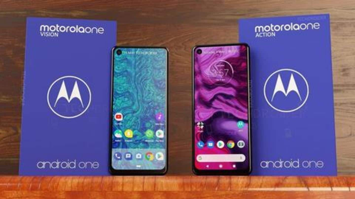 Motorola One Vision v/s One Action: What are the differences?