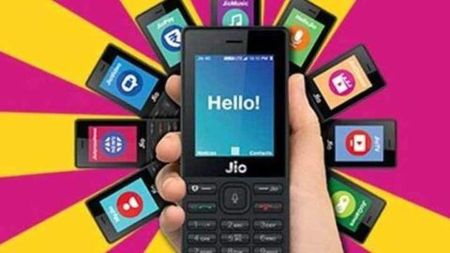 """Reliance introduces """"All-in-One"""" prepaid plans for JioPhone users"""