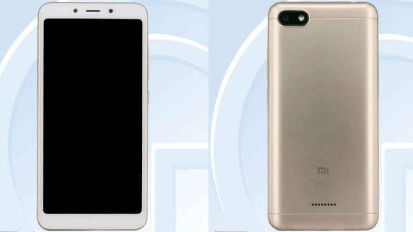 Xiaomi Redmi 6 images, specs revealed by Chinese certification site