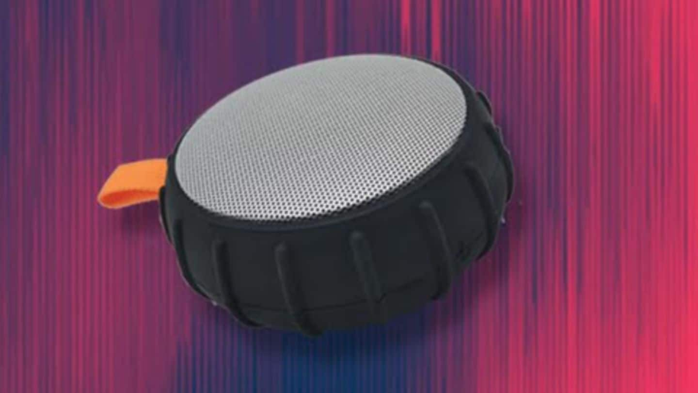 Sound One launches pocket-friendly Bluetooth speaker for Rs. 1,200