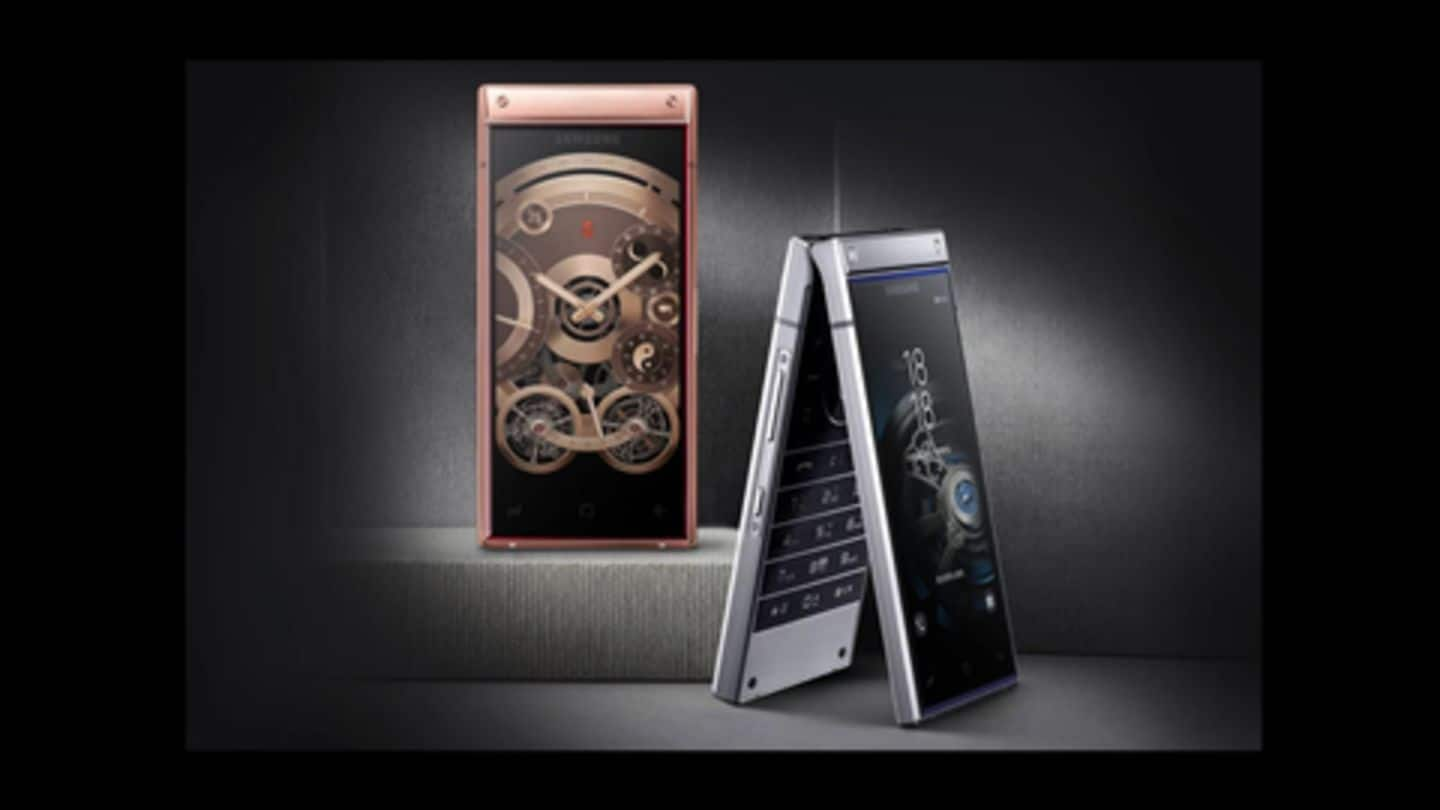W2019 flip phone: Is this the most expensive Samsung phone?