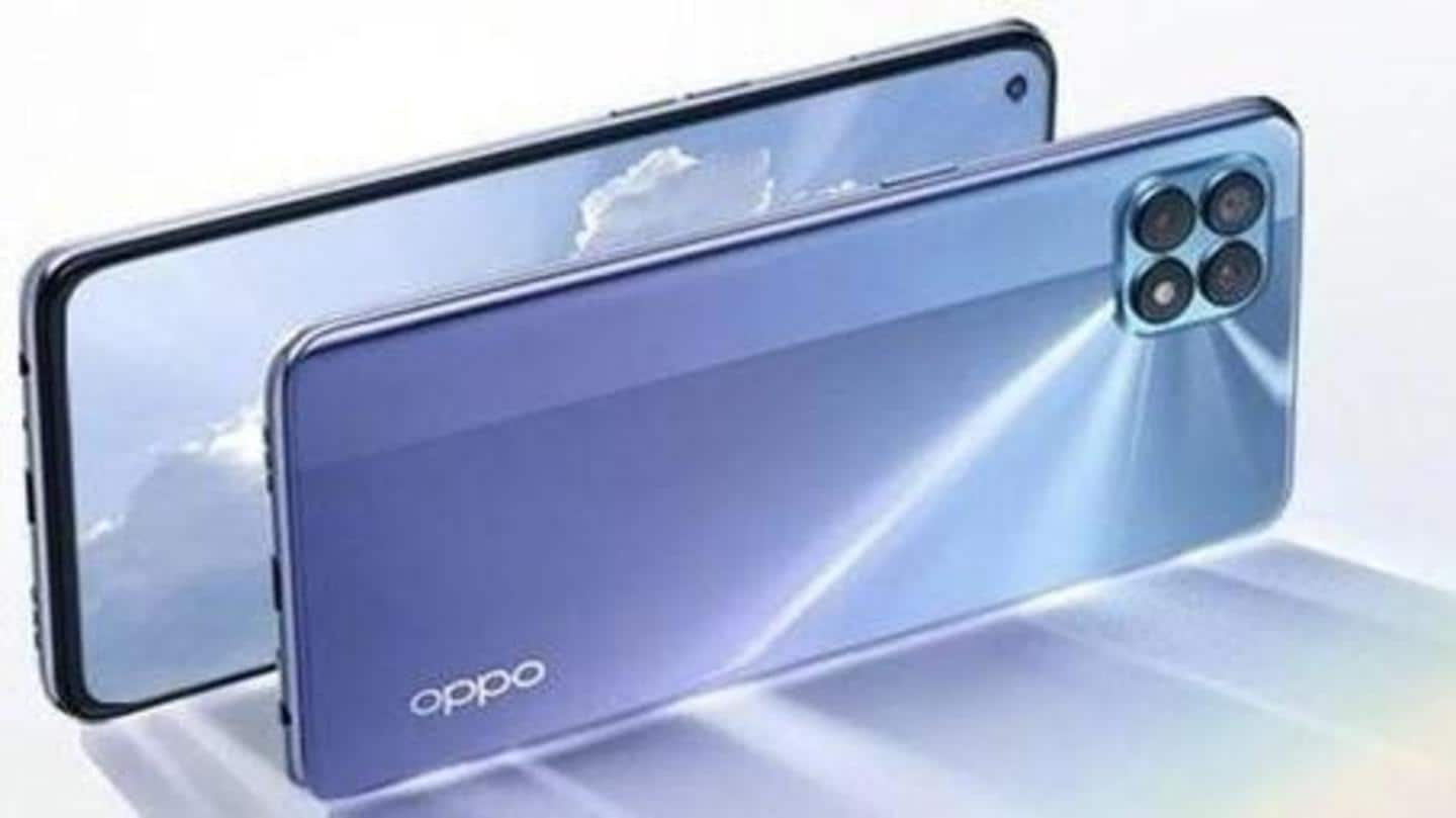 OPPO Reno4 SE 5G, with quad rear cameras, goes official