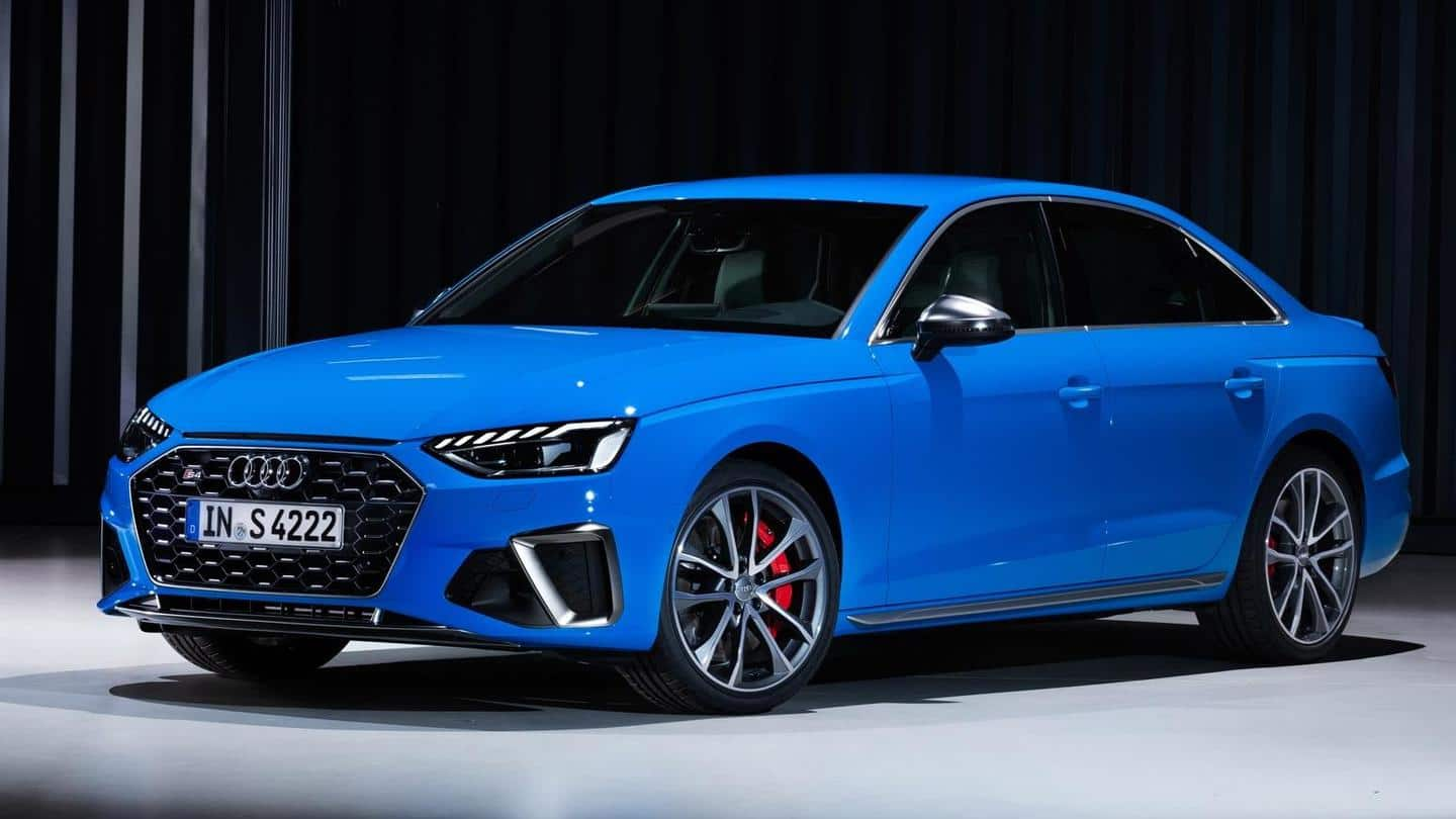 Audi A4 (facelift) to be launched on January 5