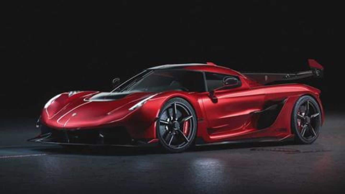 Interesting facts and figures about the hypercar Koenigsegg Jesko