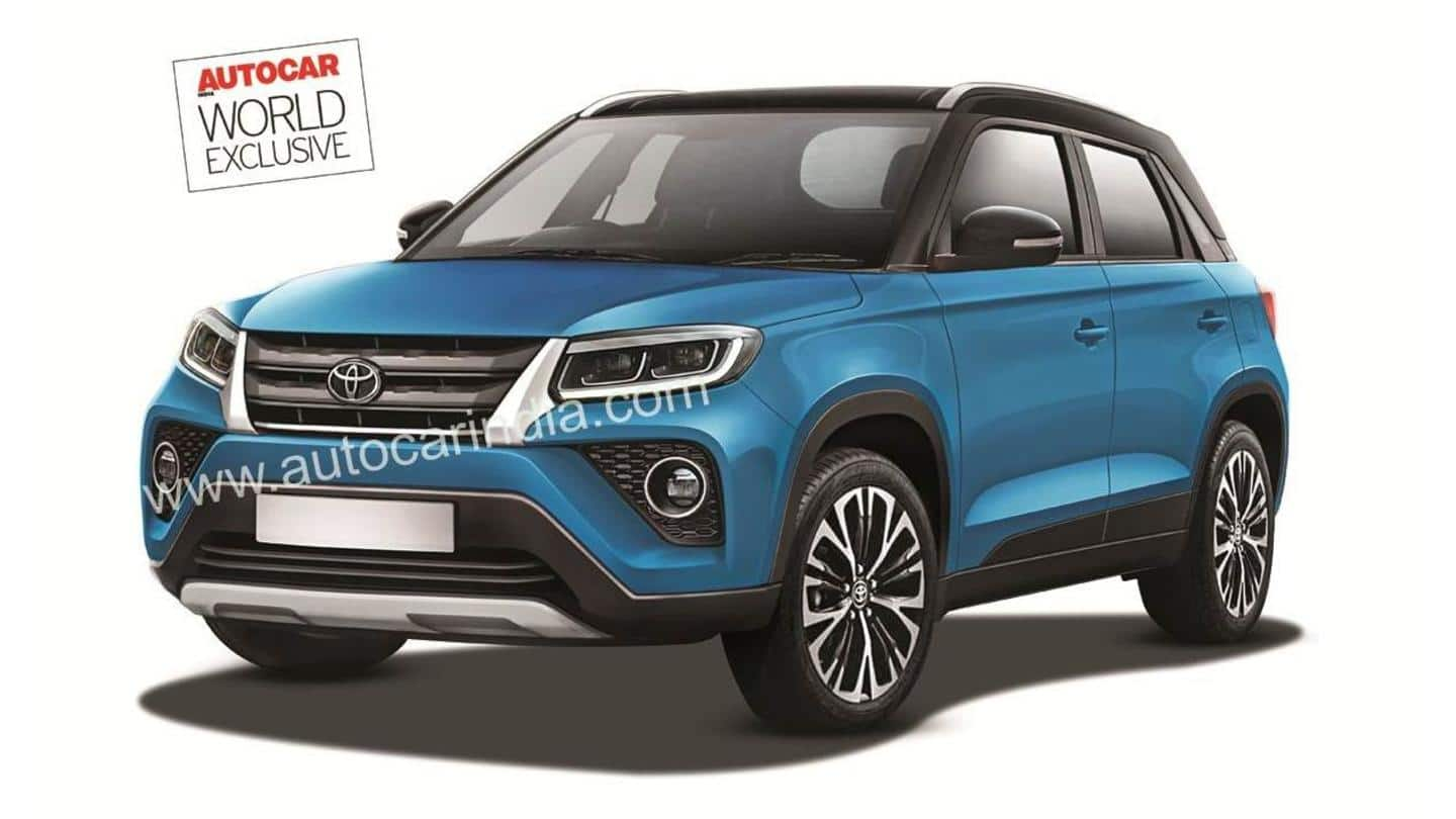 Ahead of launch, Toyota Urban Cruiser's design and features leaked