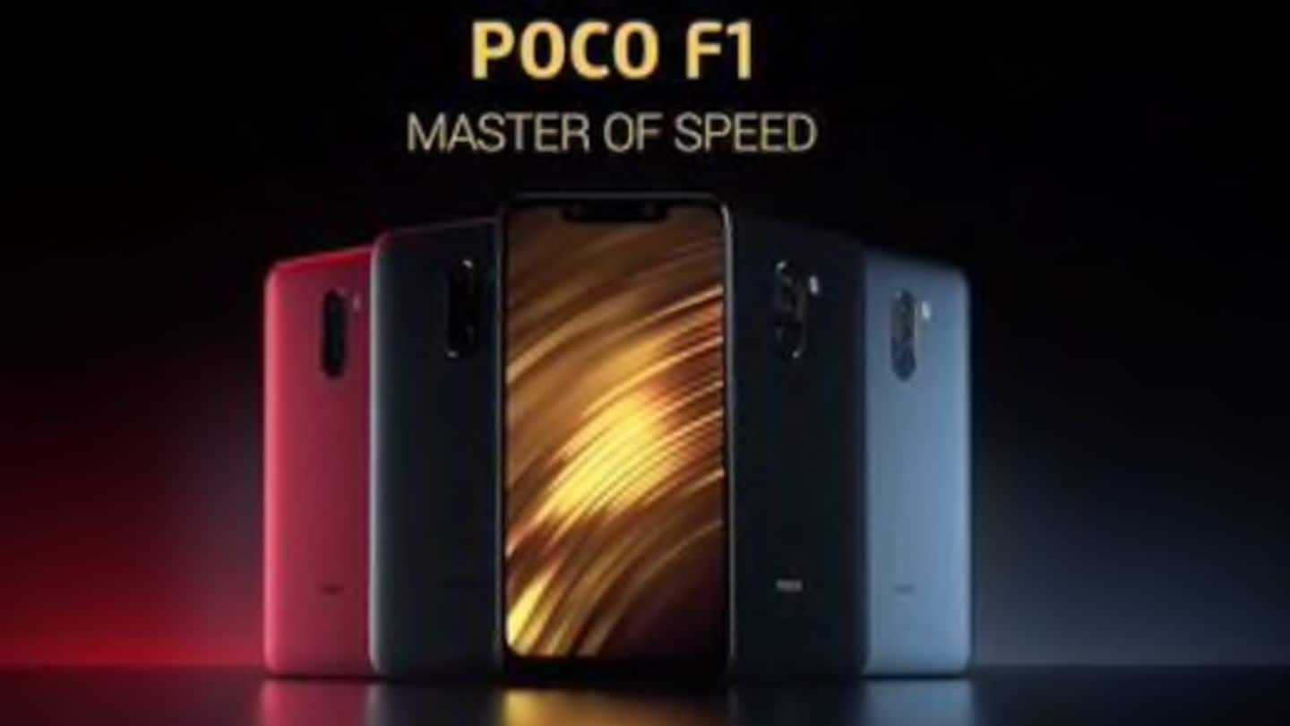 Xiaomi Poco F1 now available via retail stores as well
