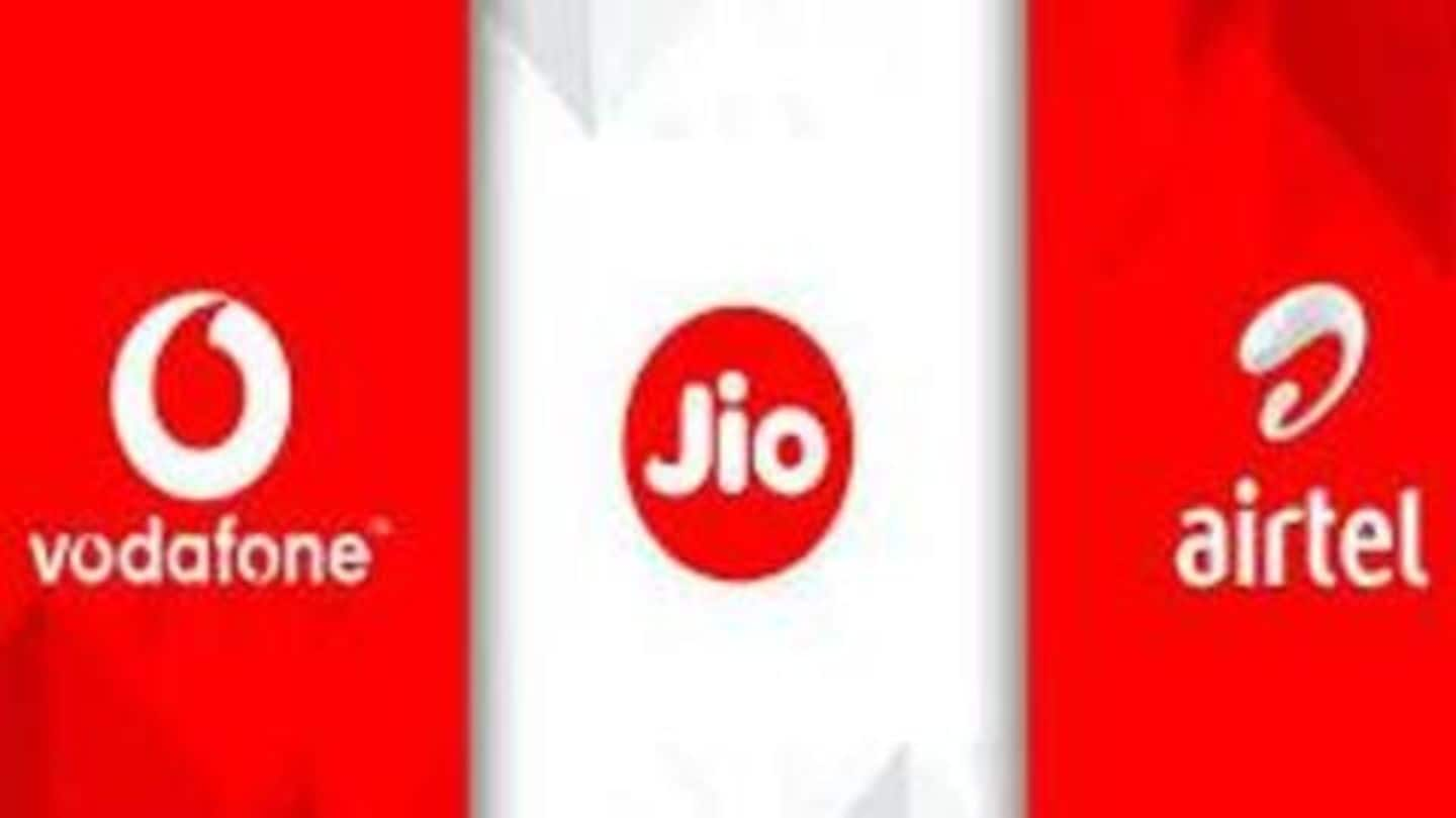 Airtel, Reliance Jio, Vodafone new prepaid plans compared