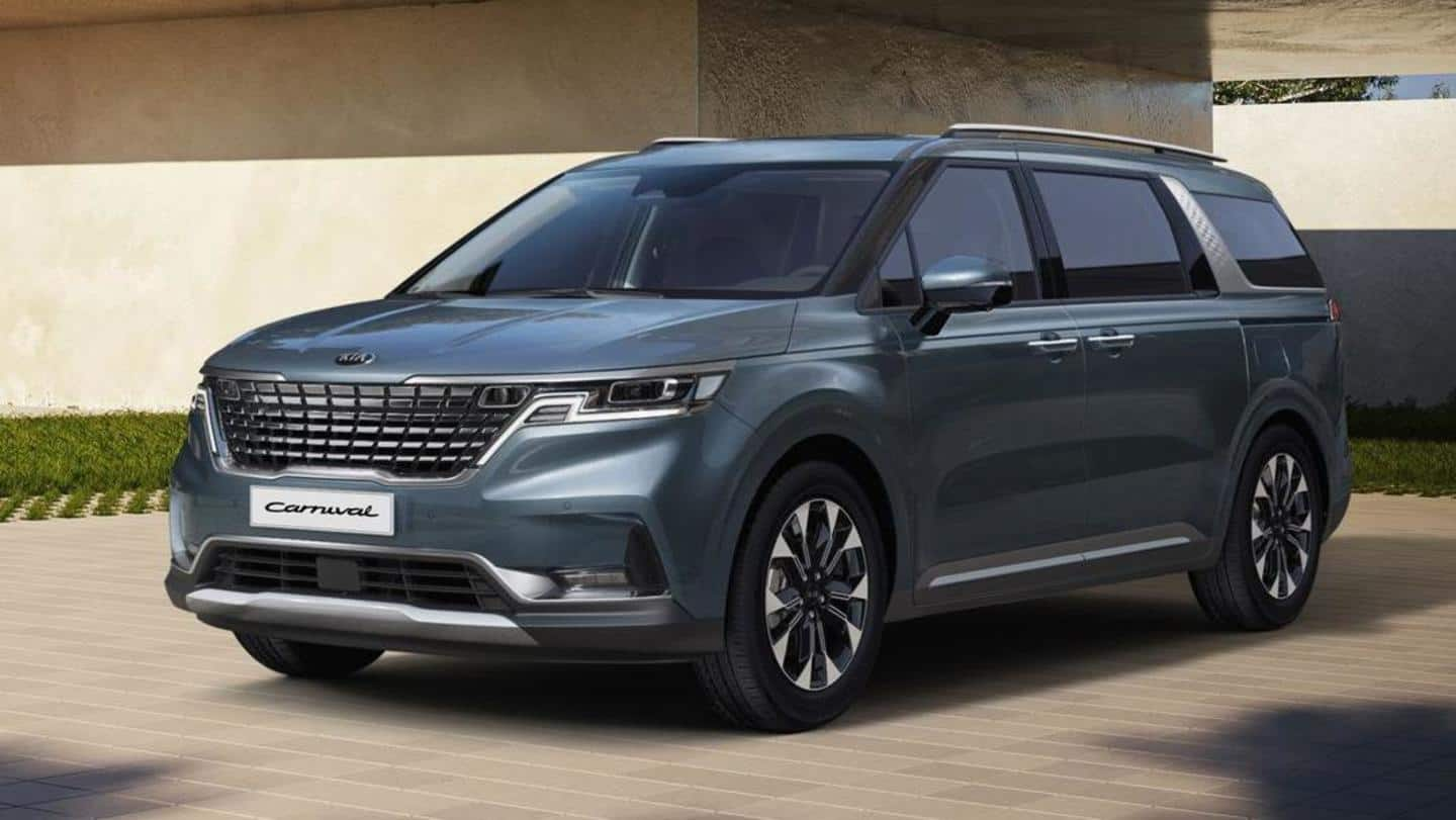 Kia Motors to launch a new midsized MPV in 2022