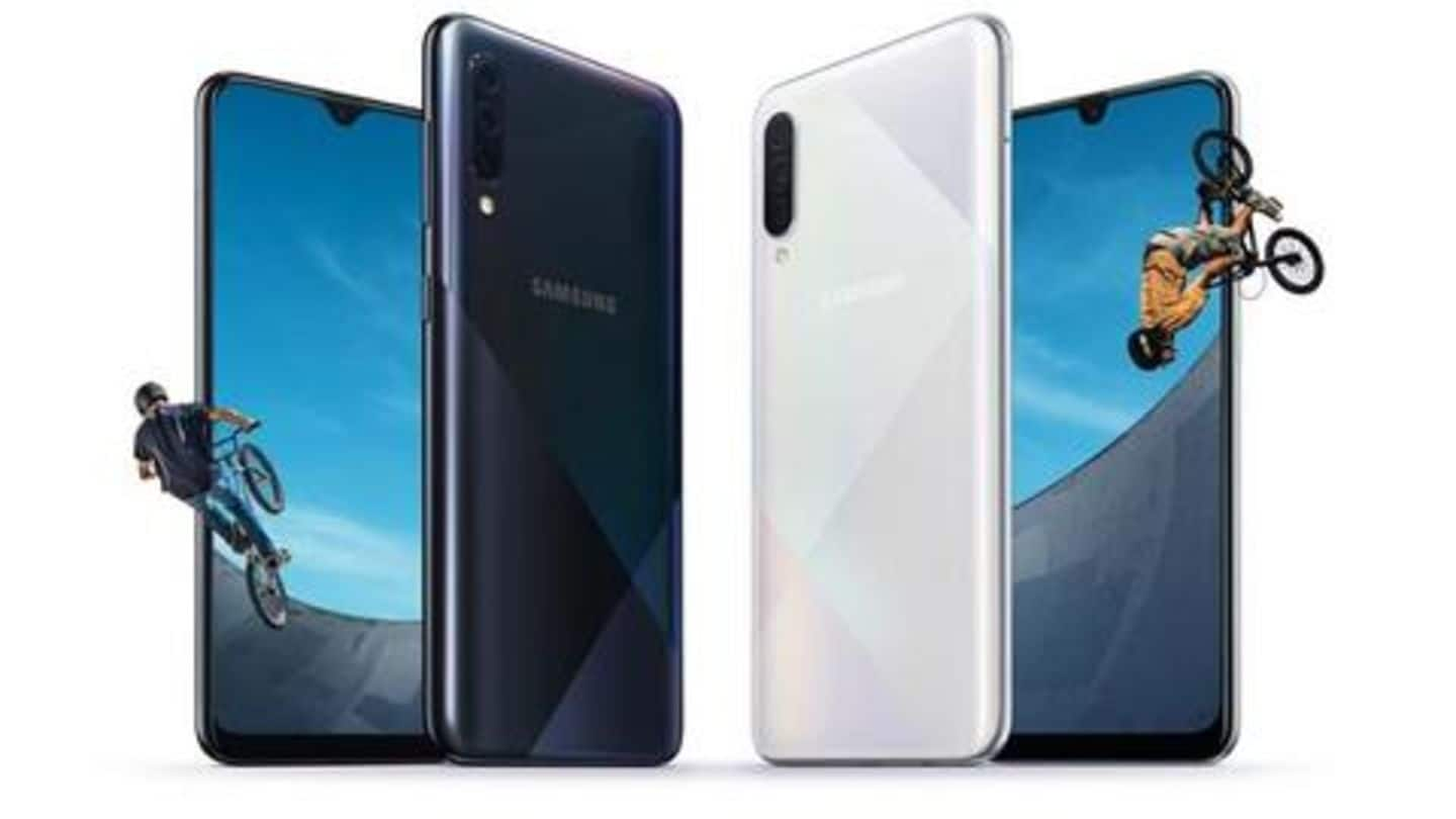 Samsung Galaxy A50s, A30s featuring triple rear-camera, launched in India