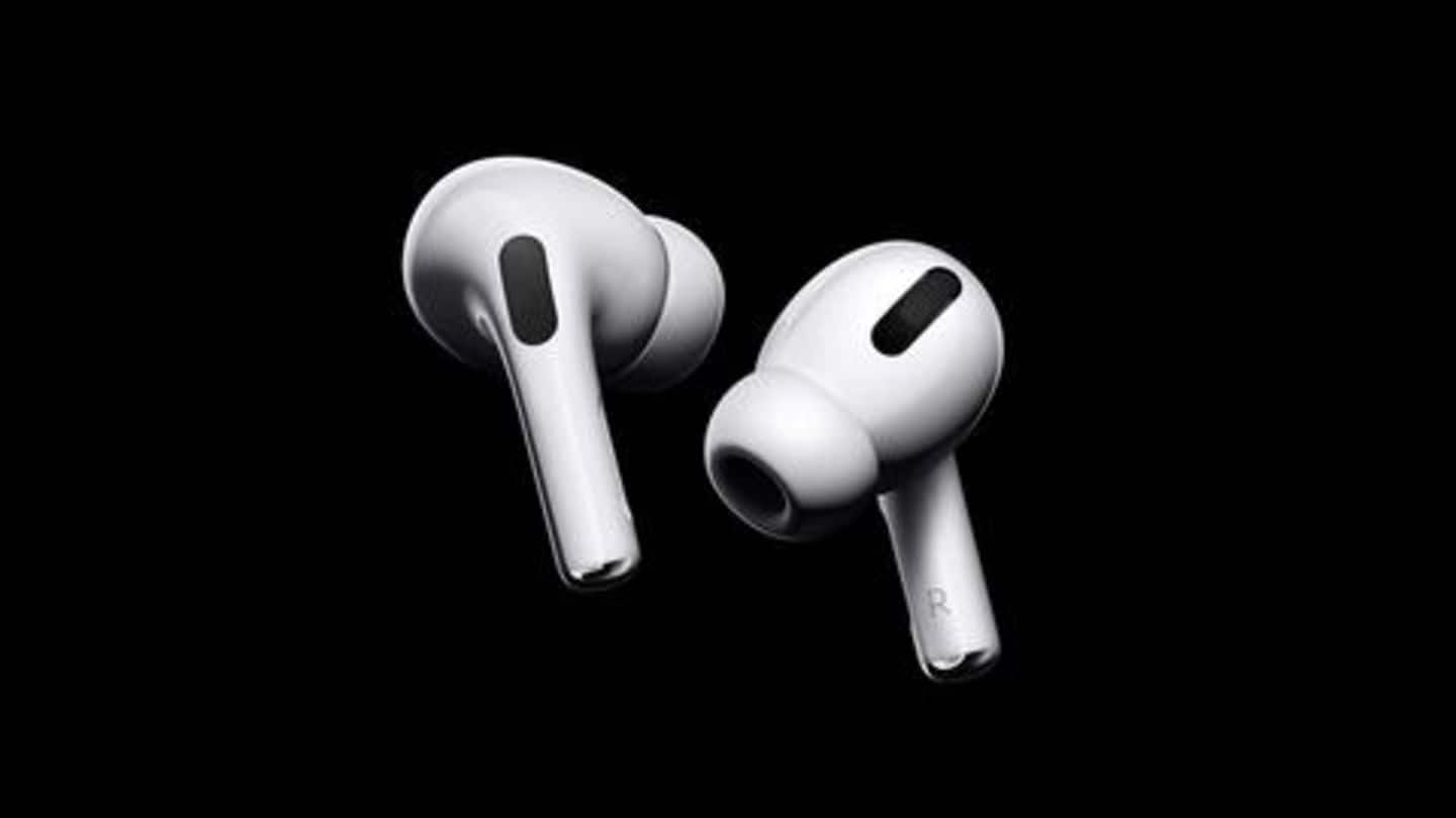 Apple AirPods Pro, with active noise-cancellation, launched at Rs. 24,900
