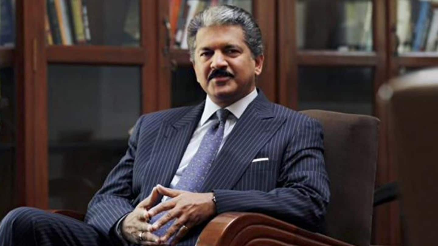 Anand Mahindra proposes to fund an Indian alternative to Facebook