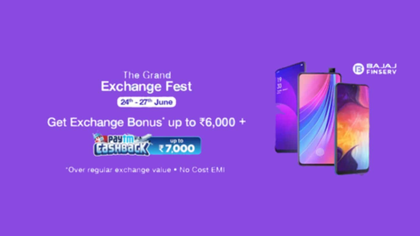 Paytm Mall Grand Exchange Fest: Great deals on best-selling smartphones