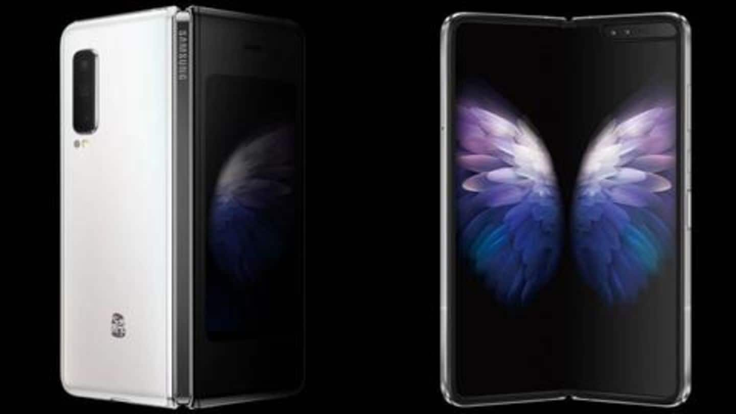 Samsung W20 5G launched in China as upgraded Galaxy Fold